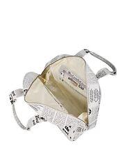 JOHN GALLIANO Newsprint Gazette 100% AUTHENTIC $1437 Ret Handbag Bag Purse RARE