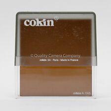 "COKIN ""A"" SERIES A045 SEPIALIGHT FILTER - LIGHT SEPIA COLOR NOSTALGIA - NOS"