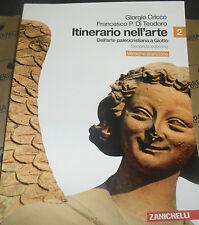ITINERARIO NELL' ARTE VOL.2 - 2^ EDIZ - VERSIONE ARANCIONE - CRICCO - ZANICHELLI