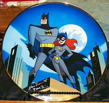 D.C. Comics Batgirl Special Edition Collectors Plate 6 OF 2500 & Holder Artwork