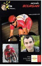 CYCLISME carte cycliste MICKAEL BOURGAIN équipe COFIDIS 2009