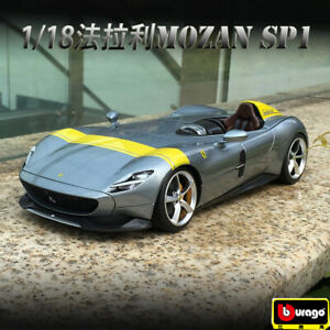 Bburago 1:18 Diecast Alloy Collection Vehicle Car Model For Ferrari MONZA SP1