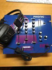Phonic Stereo Pre-Amp Audio Mixer