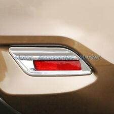 New Chrome Rear Fog Light Cover Trim for Nissan Sentra 2016 2017