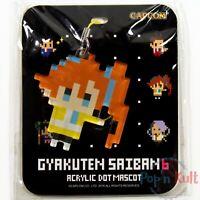 Ace Attorney 6 Acrylic Dot Mascot Strap Maretsuki Heart Sound [JAP] Capcom NEW