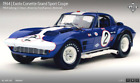 EXOTO 64 Corvette Grand Sport #2 Sebring 12hrs Foyt/Cannon 1:18 NIB #RLG18026