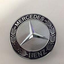 Mercedes-Benz Classic Emblem Blau C-Klasse W204 S204 - Abd. Stern Motorhaube