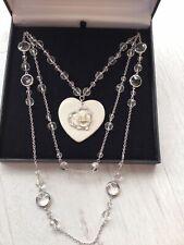 Stunning Newbridge silverware Casscade Heart Necklace