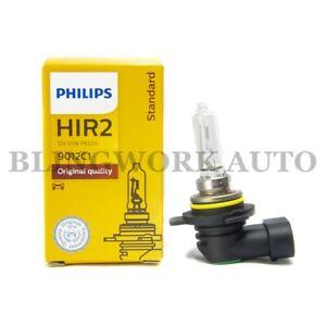 1x Philips OEM HIR2 9012 OEM Standard Factory Replacement Bulb Light 55W 9012C1
