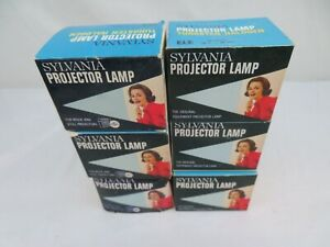 ELE PROJECTOR LAMP BULBS 80W-30V SYLVANIA LOT OF 6 NEW OLD STOCK