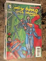 Action Comics 23.1 Syborg Superman 1 3D Lenticular Motion Cover DC