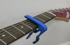 Top Stage™ Single-handed Guitar Capo Quick Change - BLUE A105-BLU
