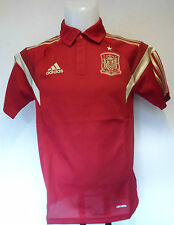 SPAIN RED CLIMALITE POLO SHIRT BY ADIDAS SIZE ADULTS XL BRAND NEW WITH TAGS