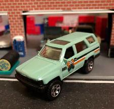 Matchbox '85 Toyota 4Runner National Forest Park Ranger New FFP 1:64 DieCast Grn