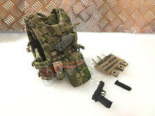 1/6 Soldier Story U.S. ARMY IN AFGHANISTAN M249 GUNNER - EBAV VEST + M9 Pistol