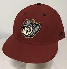 Vtg Altoona Curve MiLB Red New Era 59Fifty Fitted Baseball Hat Cap Sz 7 5/8 New