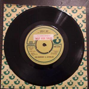 Dick Morrissey & Jim Mullen Lovely Day 45 rpm Vinyl Single 1979