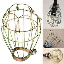 Vintage Industrielle Eisen Lampenschirm Metall Hängende Glühbirne Guard Klemme