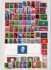 BRD ** -  3 Jahrgänge -  1967 - 1969  -  KW 44,-- €  ( 31961 )