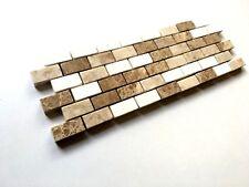 "Brick Design 3 7/8""x12""  Decorative Border Wall Floor Tile Backsplash Bathroom"