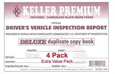 JJ Keller 115B Duplicate Detailed Drivers Vehicle Inspection Report - Pack of 4
