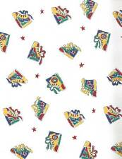 Sports Wallpaper with Childrens Tennis Shoes & Stars! DOUBLE ROLL Imperial
