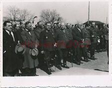 Foto, Craiova, iniciación. u. dt. los generales en desfile, otoño 1940; 5026-49