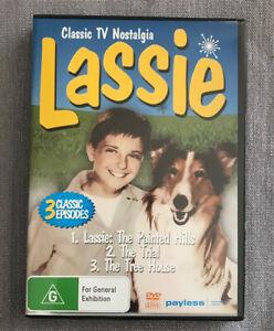 Lassie DVD *CLASSIC TV NOSTALGIA* 3 Classic Episodes