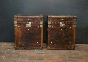 Antique Inspired Occasional Side Table Campaign Chests Trunks Home Decor
