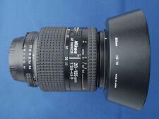 Nikon AF Nikkor 28-105mm f/3.5-4.5 D Lens For Nikon DSLR C/W HB-18 Hood & Caps