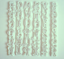 Snapit Capital Letters & Numbers, Cutters, Sugarcraft, Cake Decorating