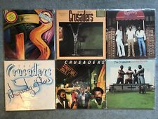 """LP Lot of 6 The Crusaders - 12"""" Vinyl Records - Jazz Music"""