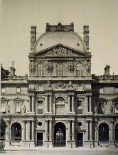 Pierre Lampué Pavillon Richelieu Nouveau Louvre Paris Héliogravure XIXème