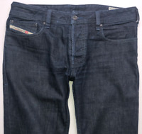 Mens DIESEL Zatiny Jeans W30 L30 Blue Bootcut Wash 0088Z