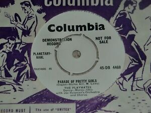 THE PLAYMATES. PARADE OF PRETTY GIRL. COLUMBIA 45-DB 4468 (GREAT DEMO TRACK)