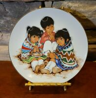 """Linda's Little Lovables """"The Blessing"""" Kern Collectibles Linda Avey 1977 Retired"""