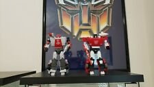 Transformers g1 masterpiece Red Alert And Sideswipe