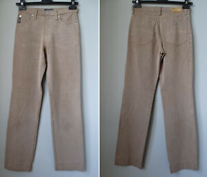 ARMANI jeans COMFORT FIT W26 S 40 marrone denim MADE IN ITALY brown