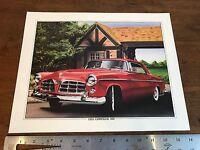1955 Chrysler 300 Art Lithograph Print 11 X 14 Artist K. Yeszin (HD11)
