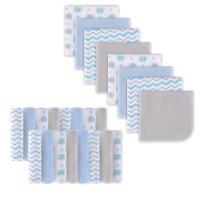 24 Pcs Baby Infant Newborn Washcloth Cartoon Soft Bath Towel  Feeding Wipe Cloth
