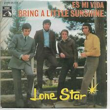 "LONE STAR 7""PS Spain 1969 Es mi vida / Bring a little sunshine"