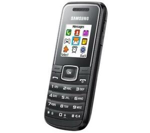 Samsung E1050 - Unlock - Black And White - Mobile Phone - Handset grade B