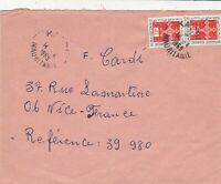 French Colonies Kaedi 1969 Mauritanie Cancels Stamps Cover to France Ref 44722
