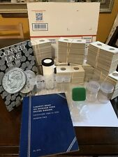 Coin supplies Lot (Mixed Lot) Includes Coin Flips, Coins Tubes And Albums & More