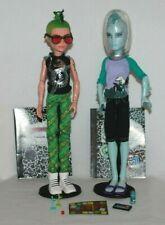 Juego De Muñeca Monster High Manster 2 Inc Deuce Gorgon & Gil Webber