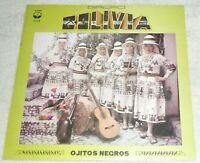 "VINYL LP by GRUPO BOLIVIA ""OJITOS NEGROS"" / BOLIVIA / LATIN  FOLK (1988)"