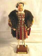 "Vintage 1960s Ann Parker English Costume Doll ""KING HENRY VIII"" DH39 w/Hang Tag"