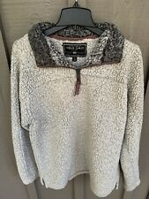 True Grit Men's Pebble Pile 1/4 Zip LS Pullover Jacket ~  size Small Excellent !