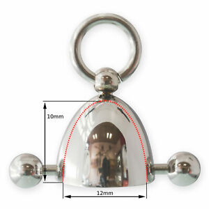 Nipple Piercing Ring of O Stainless Steel Cage BDSM Fetish Intimate Body Jewelry