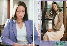 OLIVIA HUSSEY 1979 Japan Picture Clippings 2-SHEETS nj/m